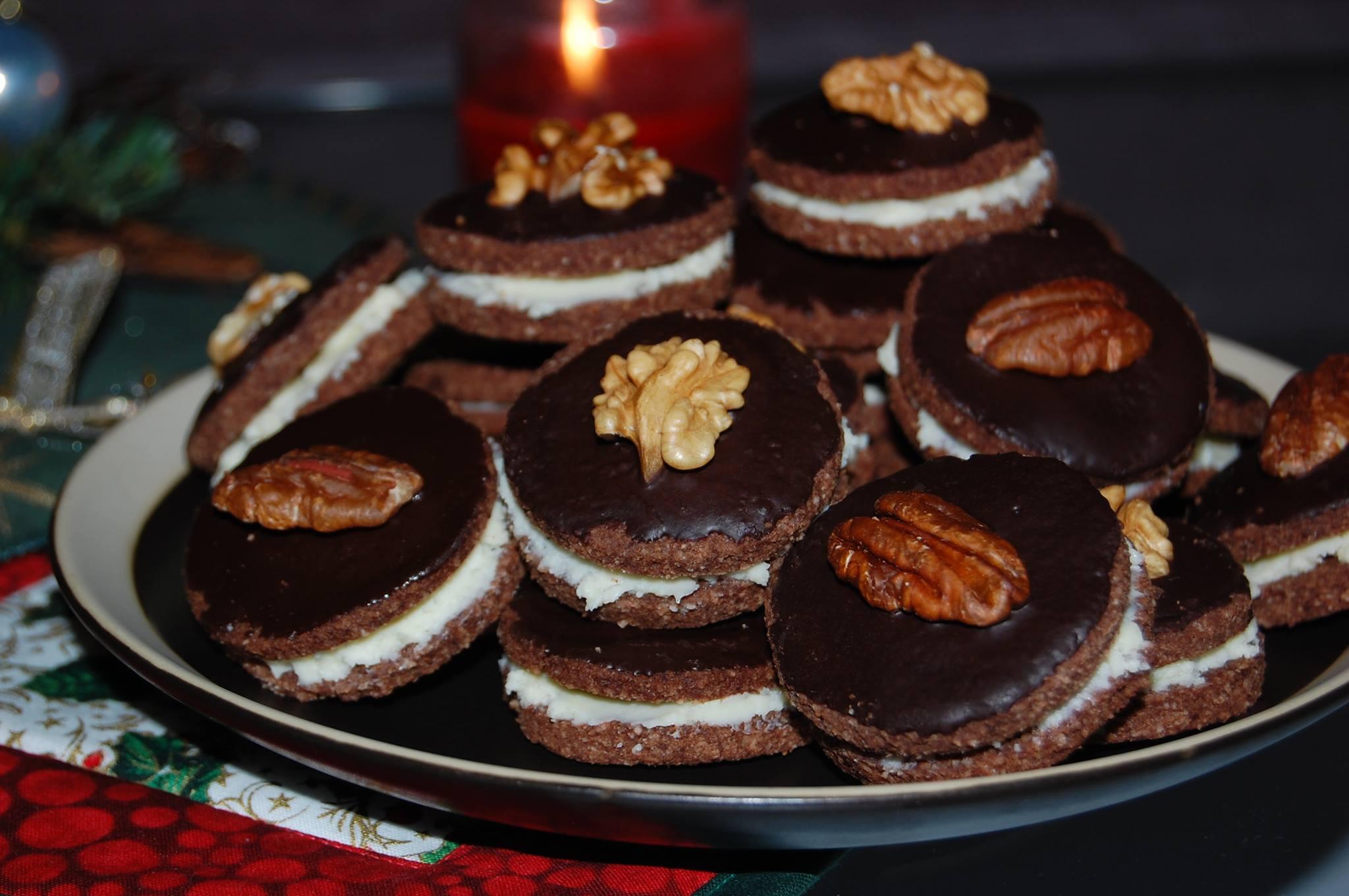 Čokoládovo-kokosová kolečka