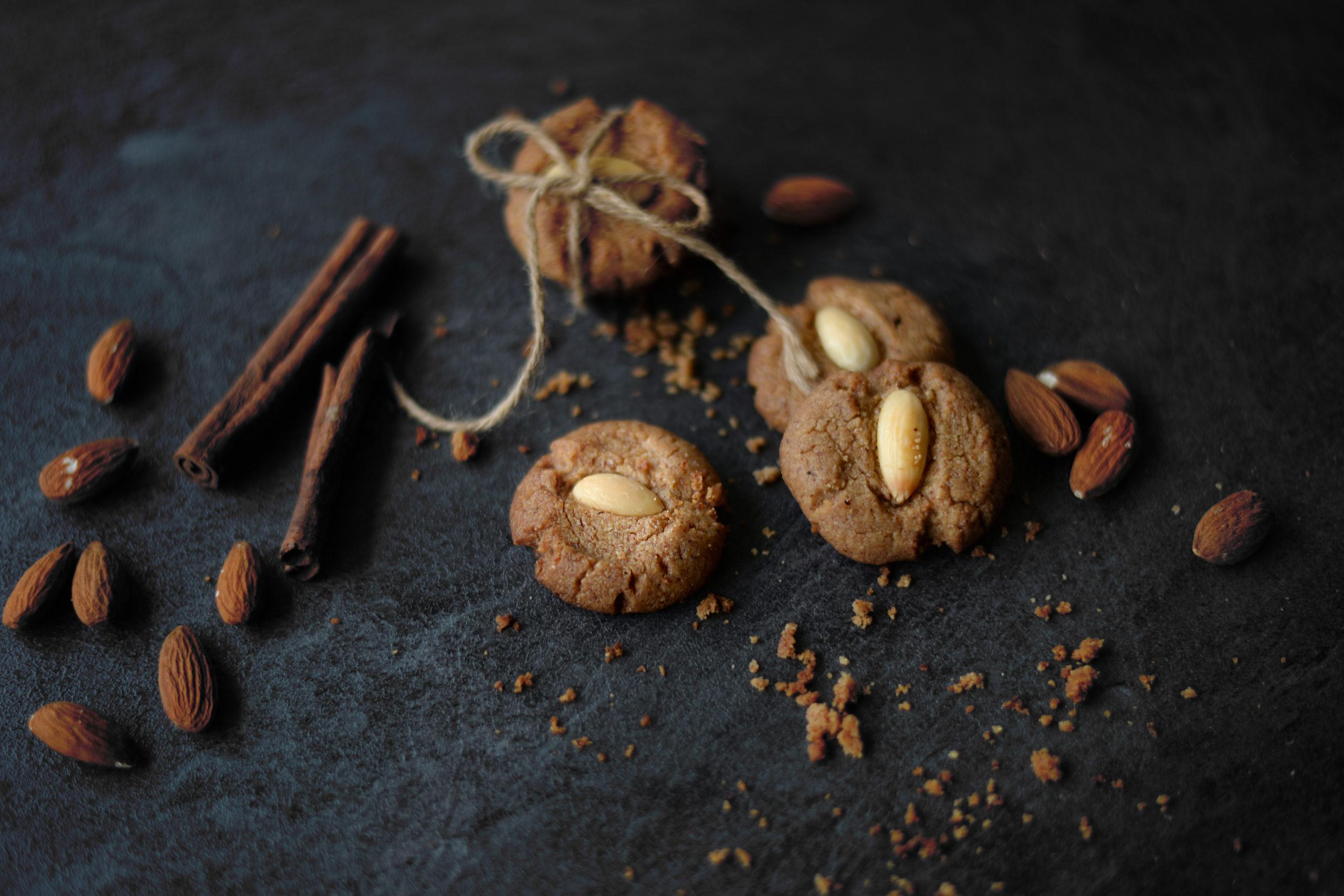 Sušenky z ořechového másla