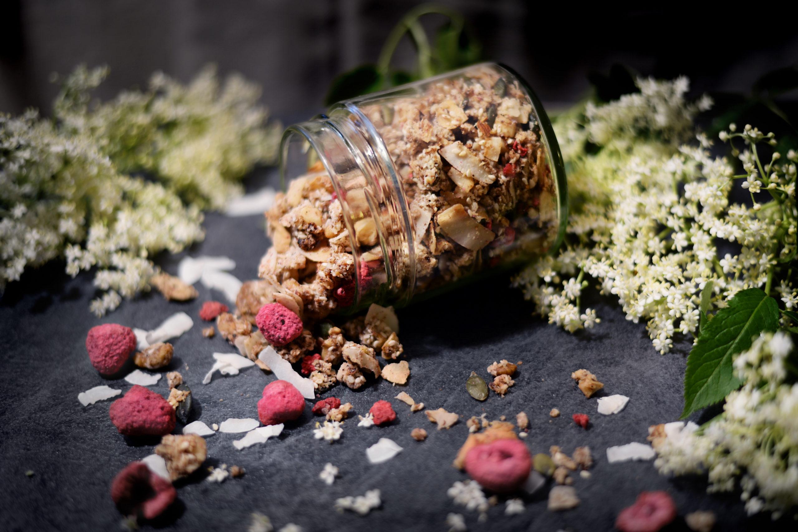 Snídaňová granola