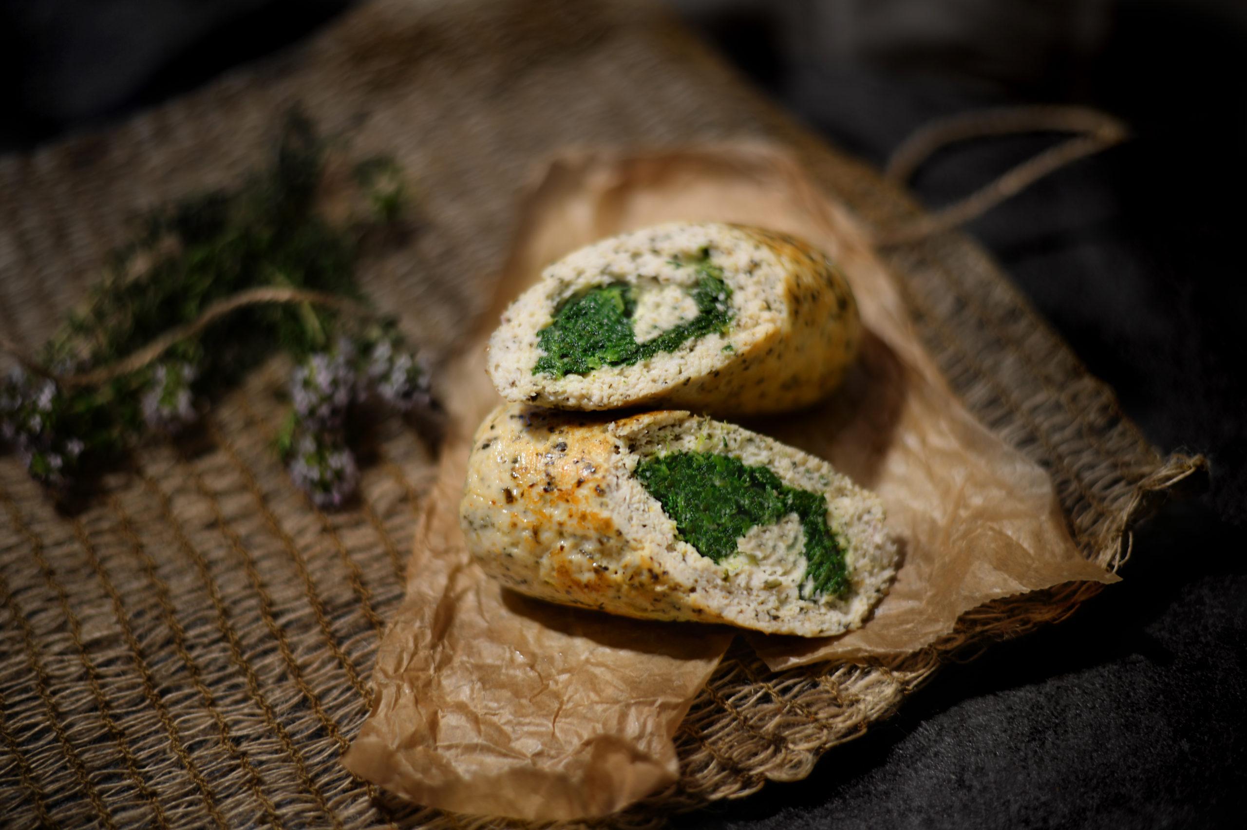 Kuřecí roláda se špenátem